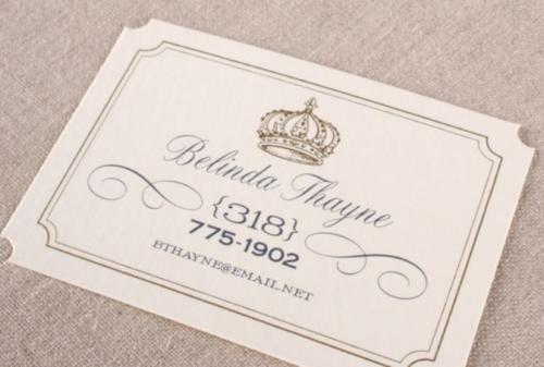 William Arthur Social Stationery 3